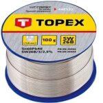 9. TOPEX Soldeertin 1,0 mm, met harskern