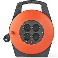 Nedis Kabelhaspel - 20,0 m - H05VV-F 3G1.5 - IP20